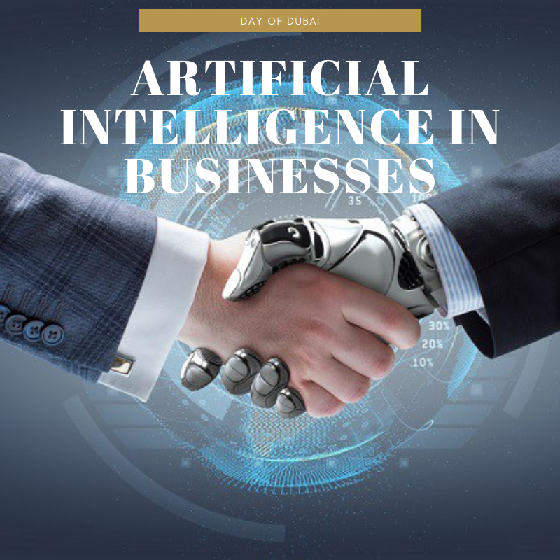 Artificial intelligence in businesses