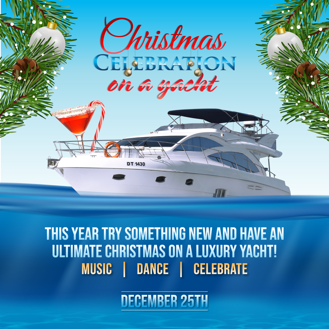 Christmas Party on Yacht