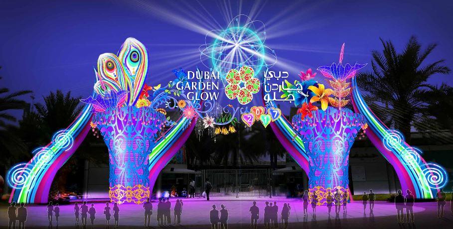 Dubai Garden Glow Day Of Dubai Dubai S Leading Information Portal News Jobs Events