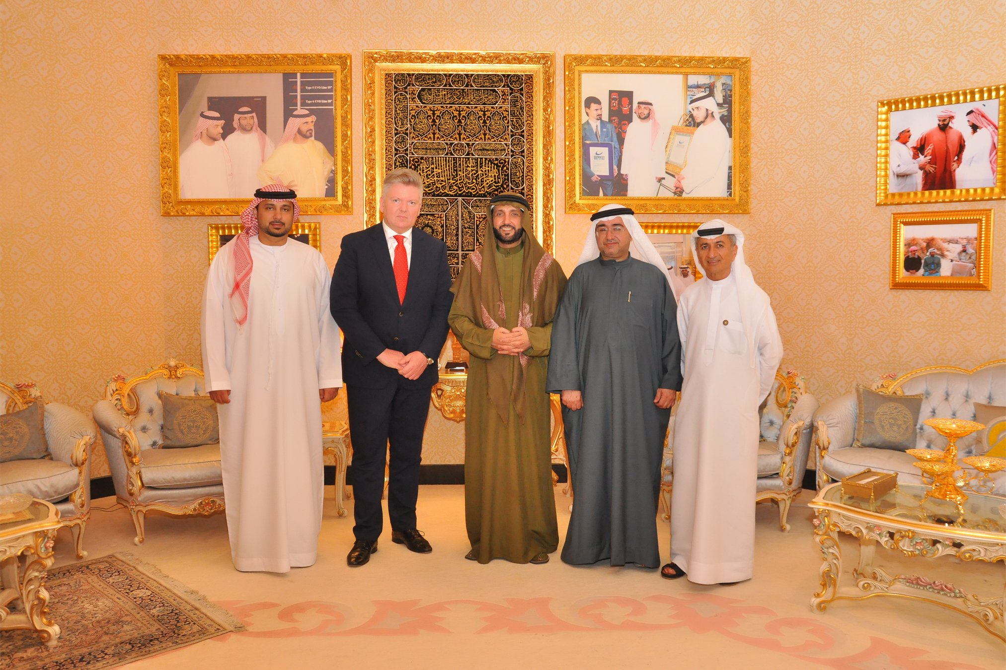 His Excellency Suhail Mohd. Al Zarooni, Guinness World Record Holder, A Philanthropist, An Author, An Emirati Collector, Ambassador at Large and Emirati Businessman called on His Excellency Robert Rostek, The Honorable Polish Ambassador to the UAE followed by Dinner at Jumierah, Dubai, United Arab Emirates.