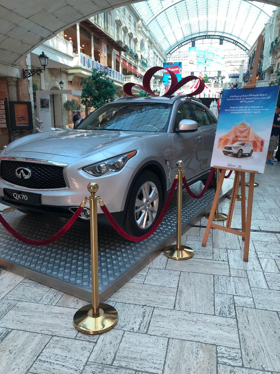 INFINITI of Arabian Automobiles partners with Mercato Mall