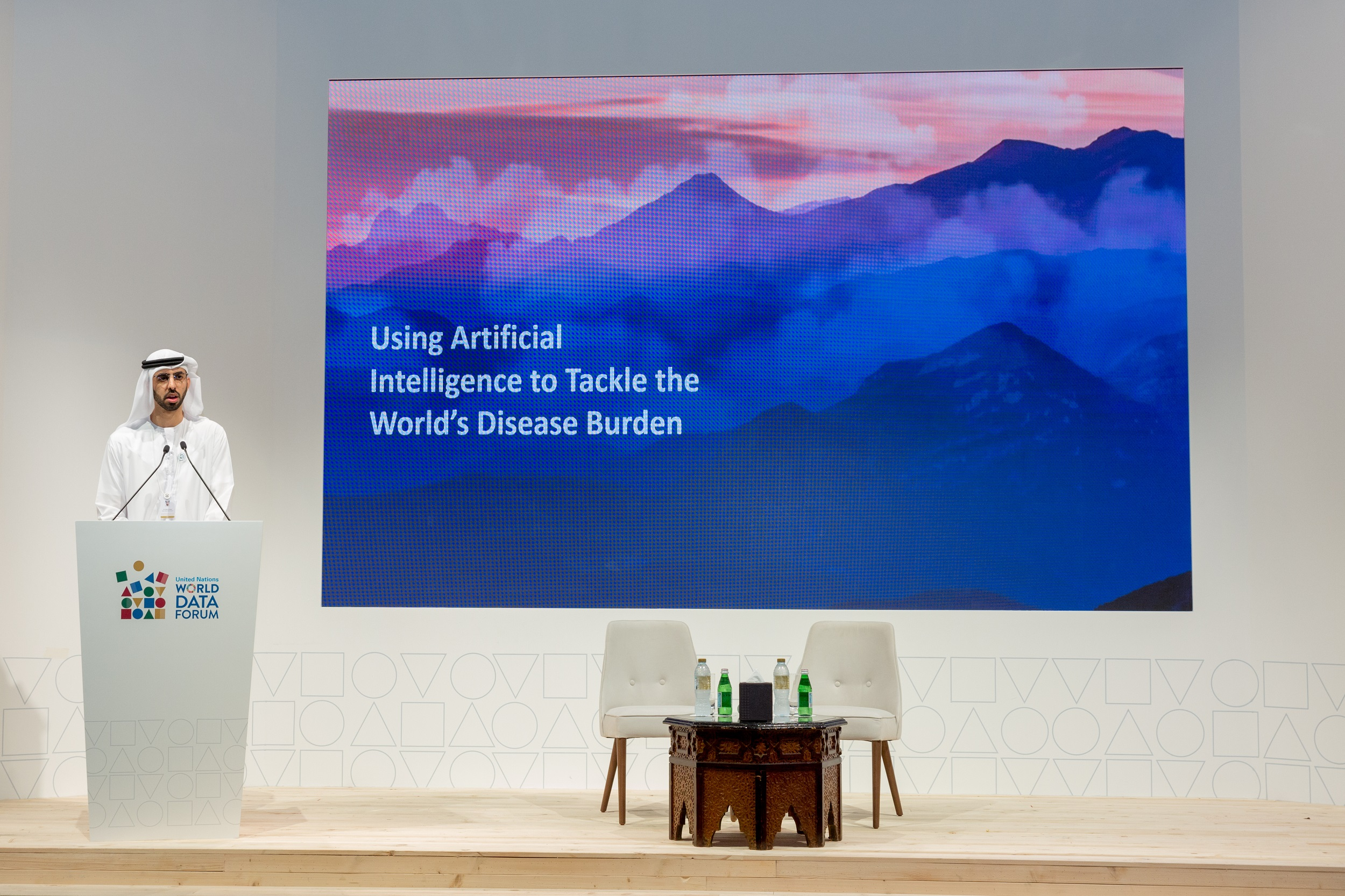 'Artificial Intelligence Could Eradicate Tuberculosis,' UAE Minister of State for AI Tells Audience at UN World Data Forum 2018