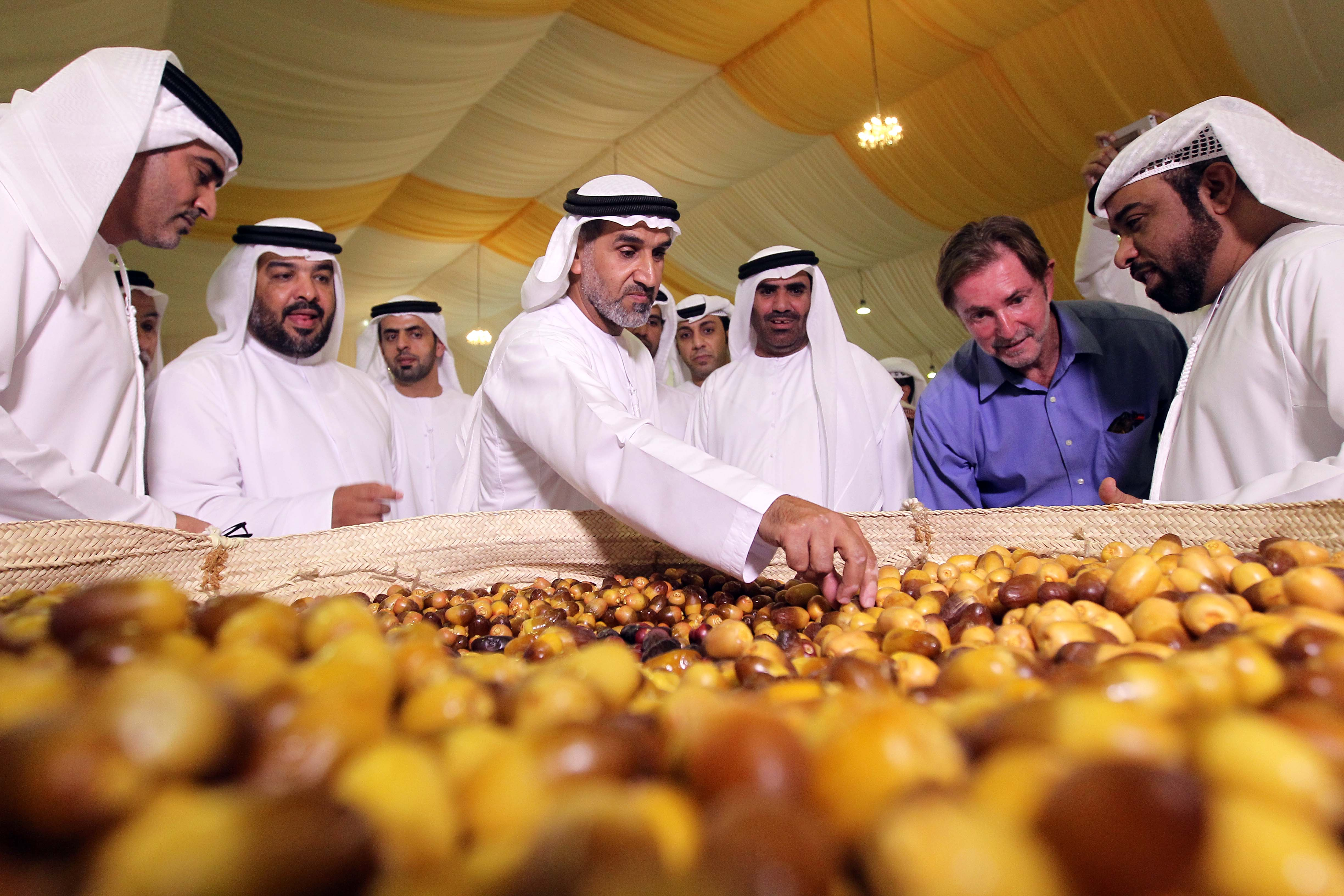 "The 12th LIWA Dates Festival Kicks Off with 100 Baskets Of Dabbas, A Local ""Hero"" Date Variety. The Best Basket Will Get Its Farmer Aed 50,000!"