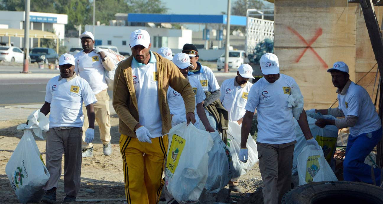 6,000 Tons of Waste Collected During 'Clean Up UAE' Drive in Umm Al Quwain