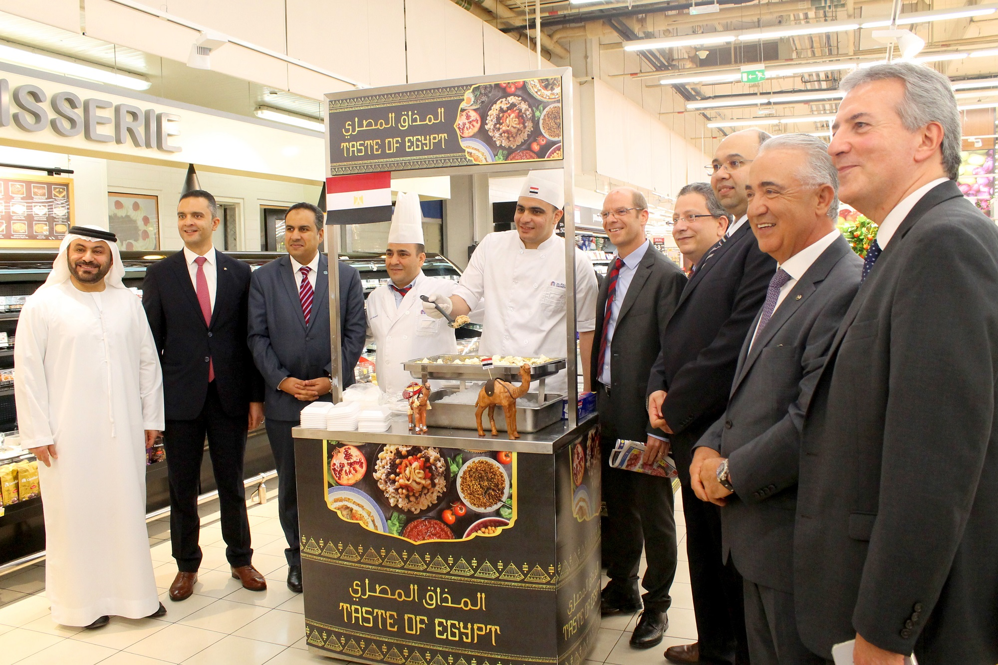 New Taste Of Egypt Inaugurated By Carrefour At Mall Of The