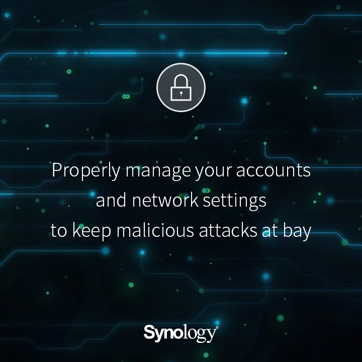 Synology® recommended All Users to Take Expedite Action to Safeguard