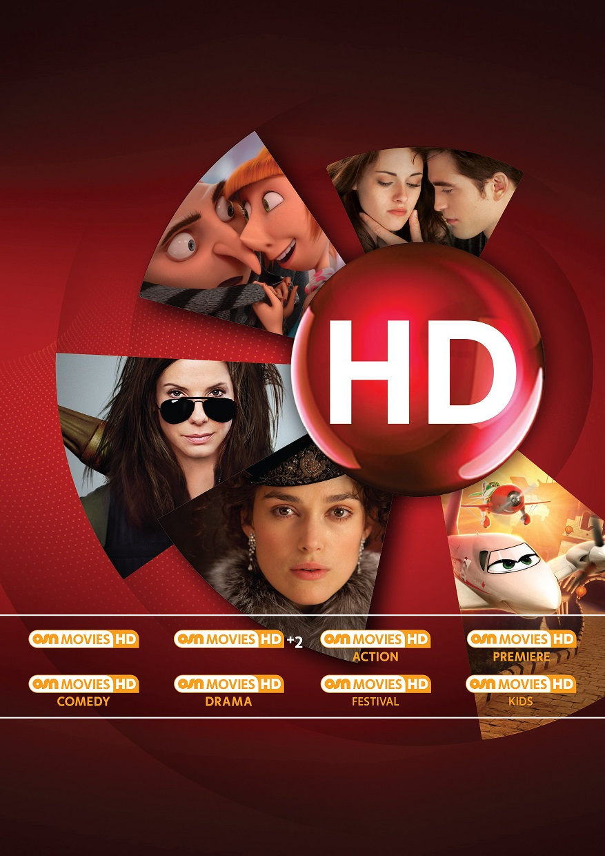 All OSN Movie Channels Now in High-Definition; OSN's HD Offering Increases to 46 channels