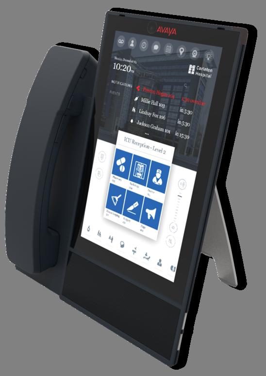 Avaya Vantage Device Transforms Desktop Communication
