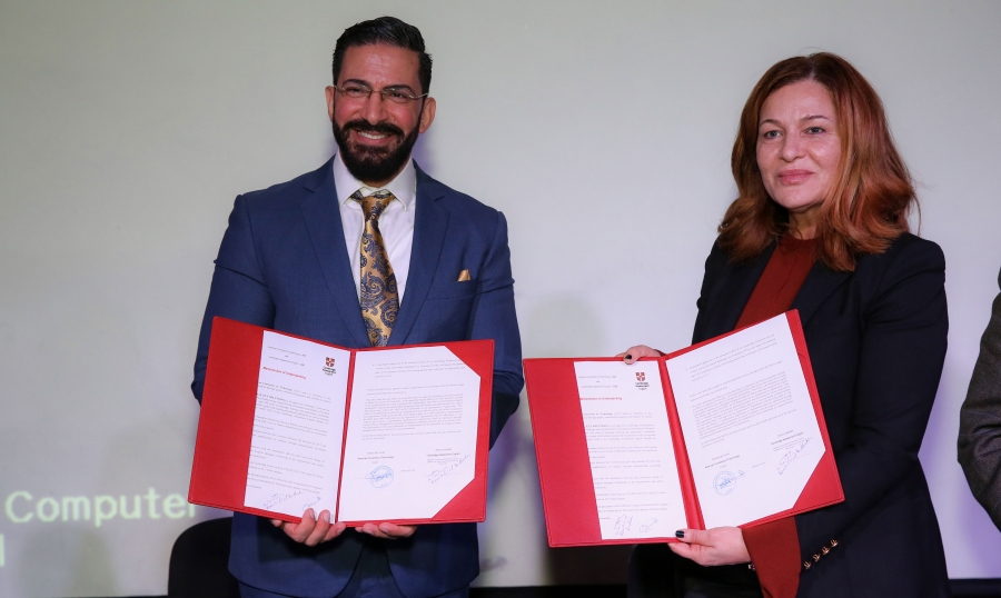 Exhibition Stand Builders New Zealand : Beirut arab university bau signs a partnership with
