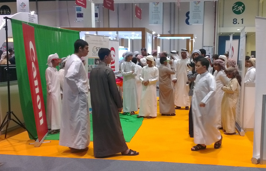 Canon Middle East trains young Emiratis for 2014 Emirates Skills Competition