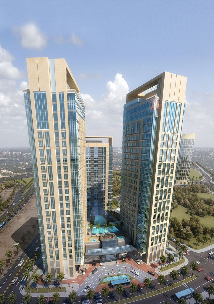 Carlson rezidor announces the park inn by radisson dubai for Motor city casino parking