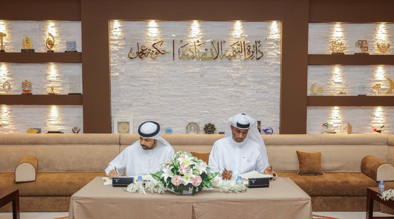 DED-Ajman Signs Strategic Agreement with Department of Land & Real Estate Regulation in Ajman