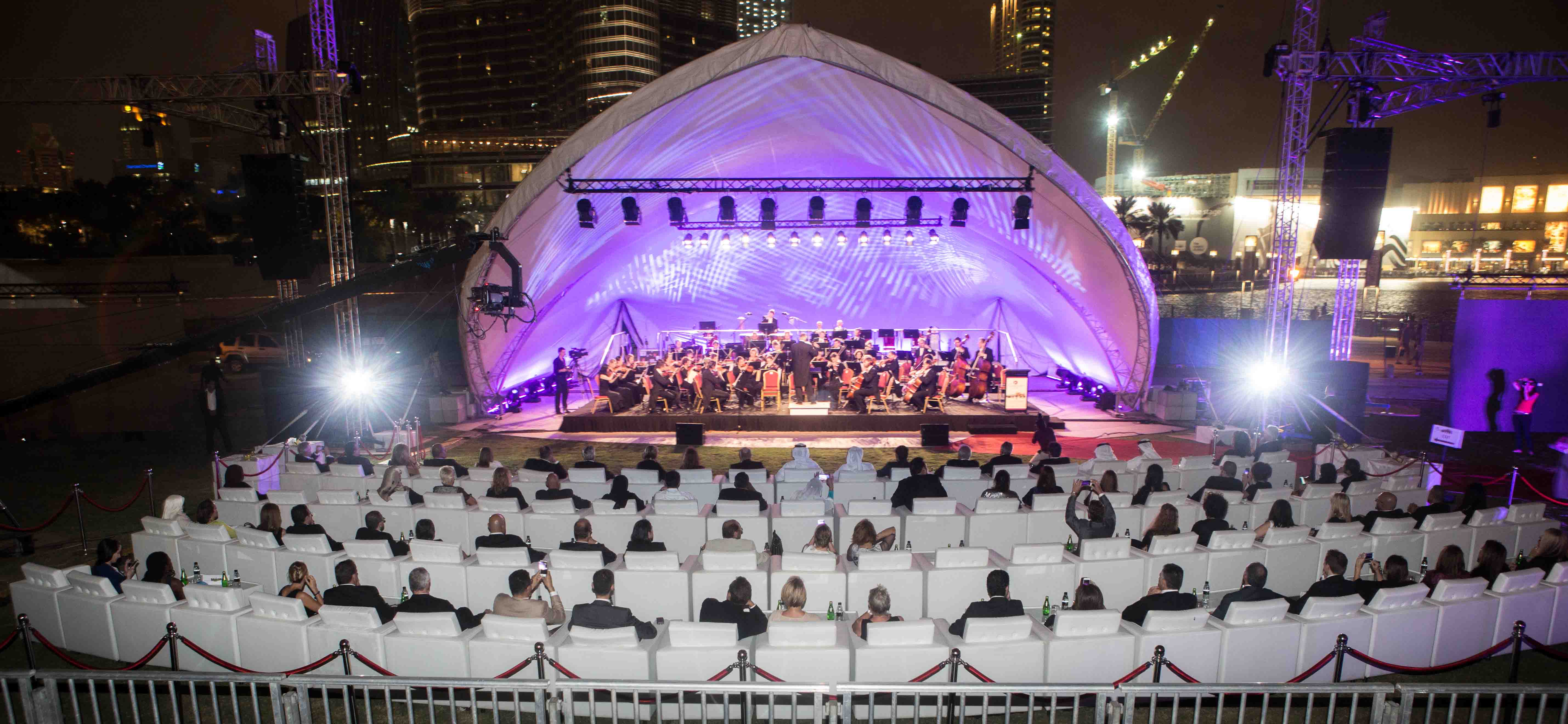 Deutsche Philharmonie Merck delighted audience to raise funds for multiple sclerosis (MS) patients in the UAE