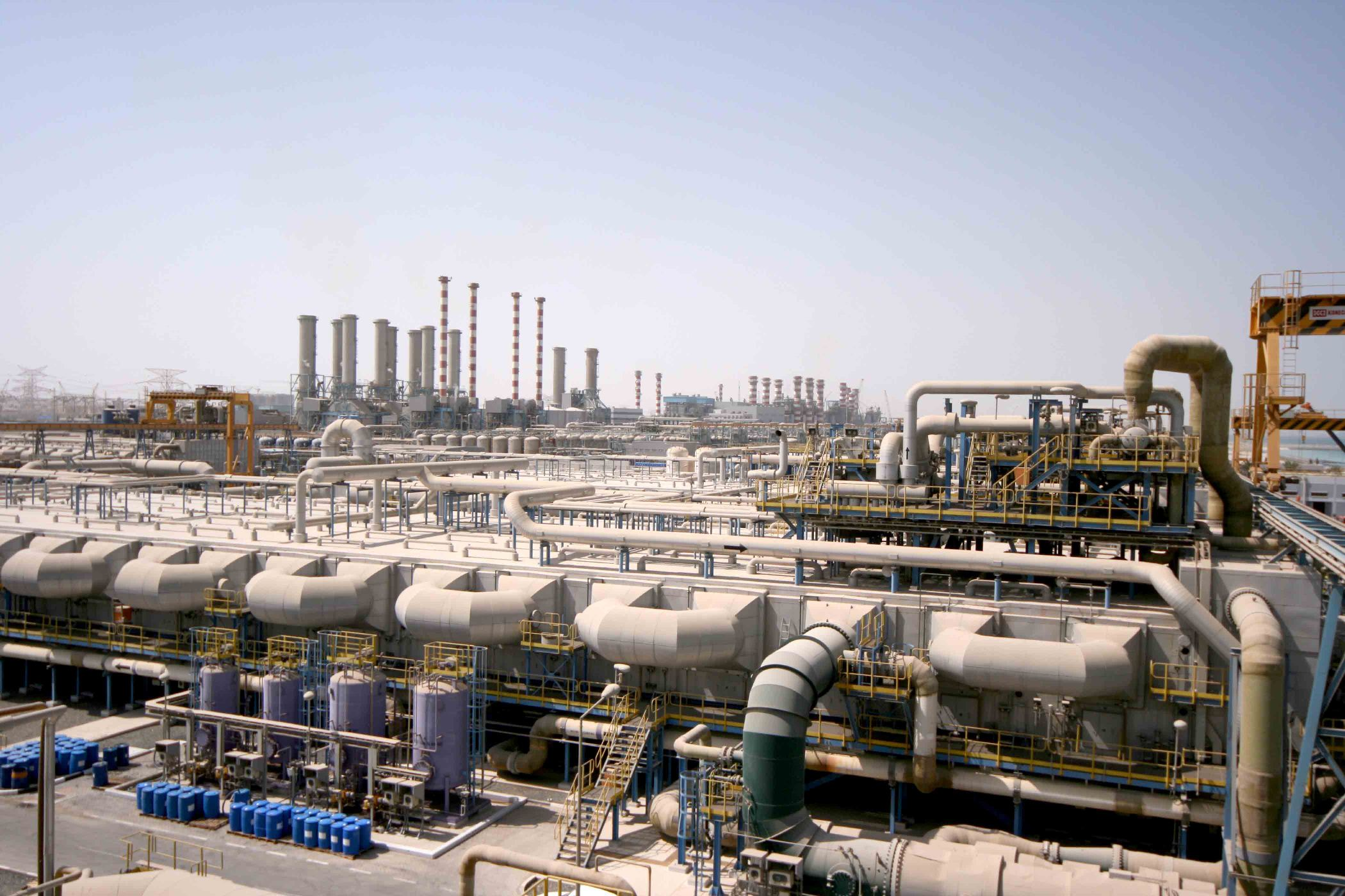 DEWA awards M Station power production and desalination plant