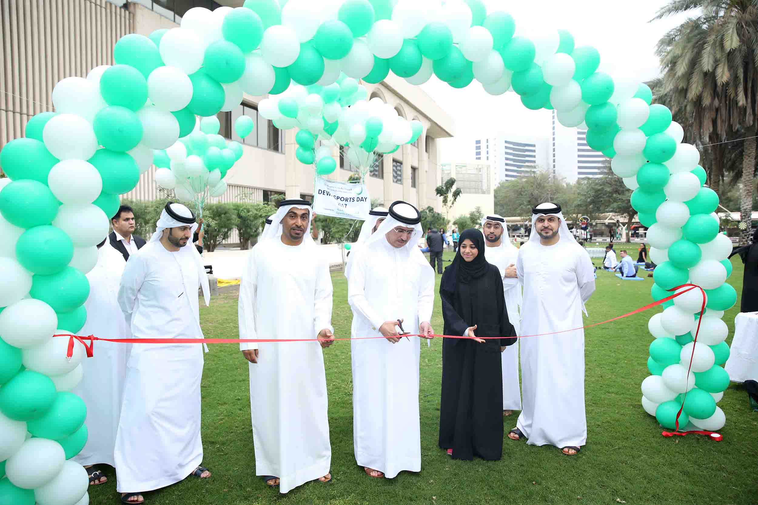 DEWA Participates in 2nd UAE National Sports Day