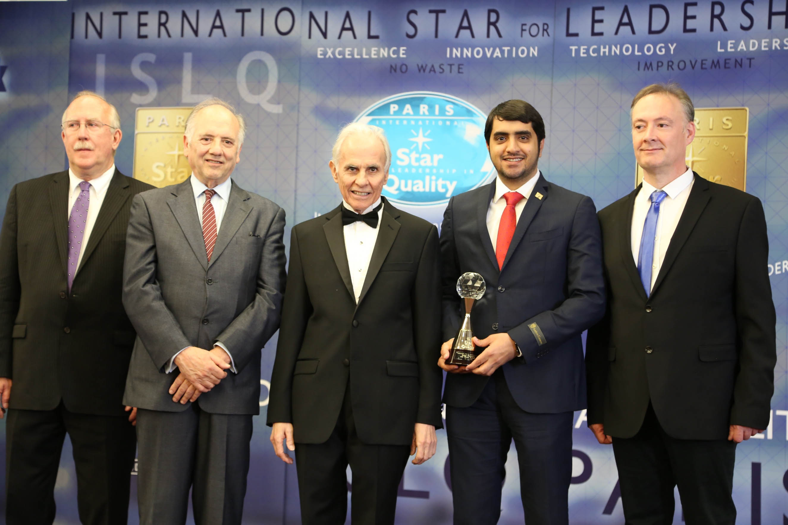 DEWA wins International Star for Leadership in Quality Award for outstanding excellence and quality