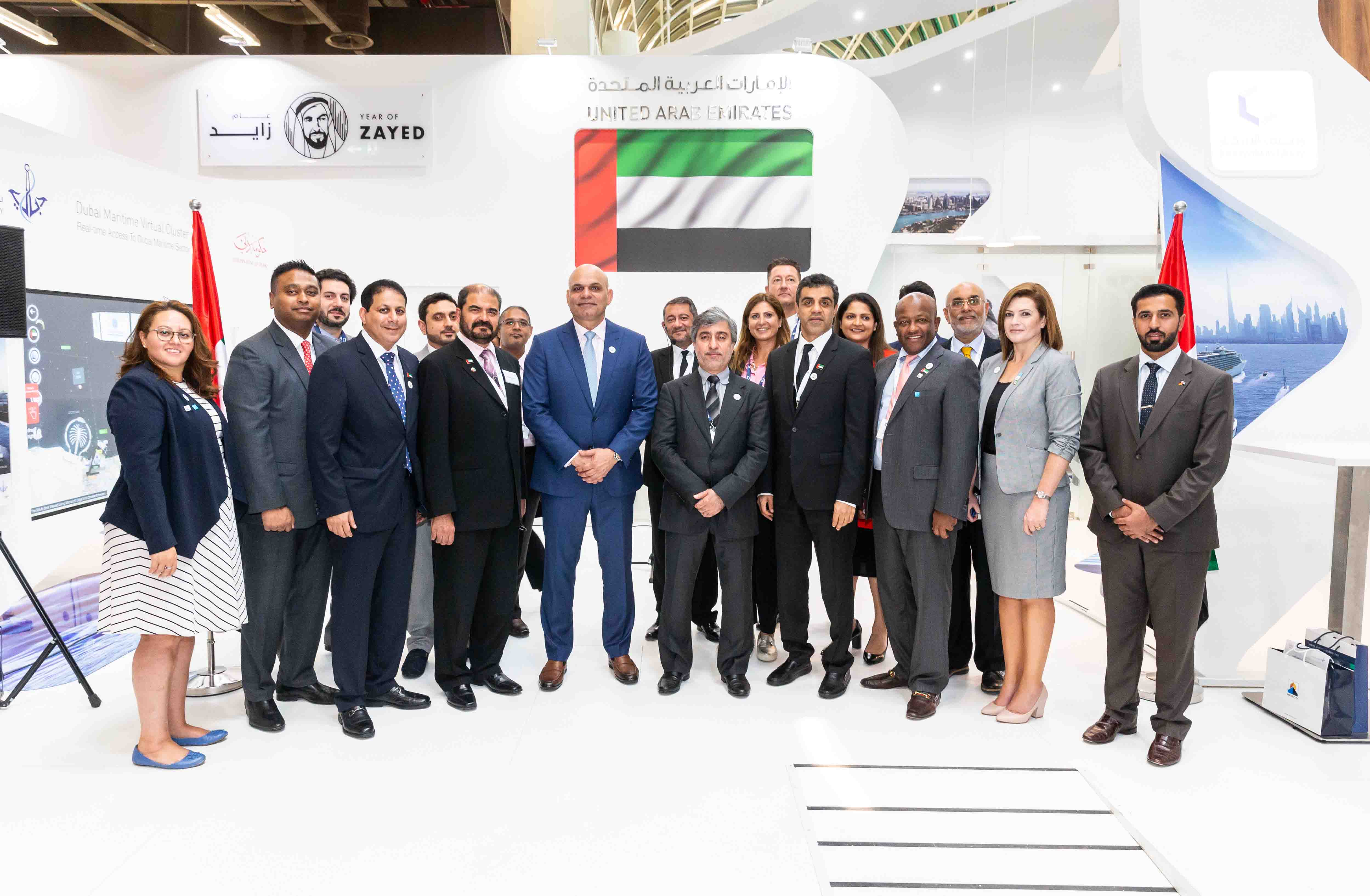 DMCA Showcases Dubai's Competitiveness at SMM 2018 in Germany