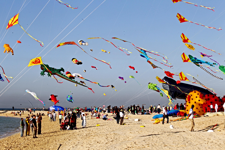 Dubai International Kite Fest Takes Off To A Spectacular Start Dayofdubai