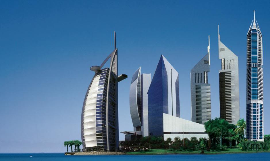 Dubai known for its iconic architecture dayofdubai for Famous structures in dubai