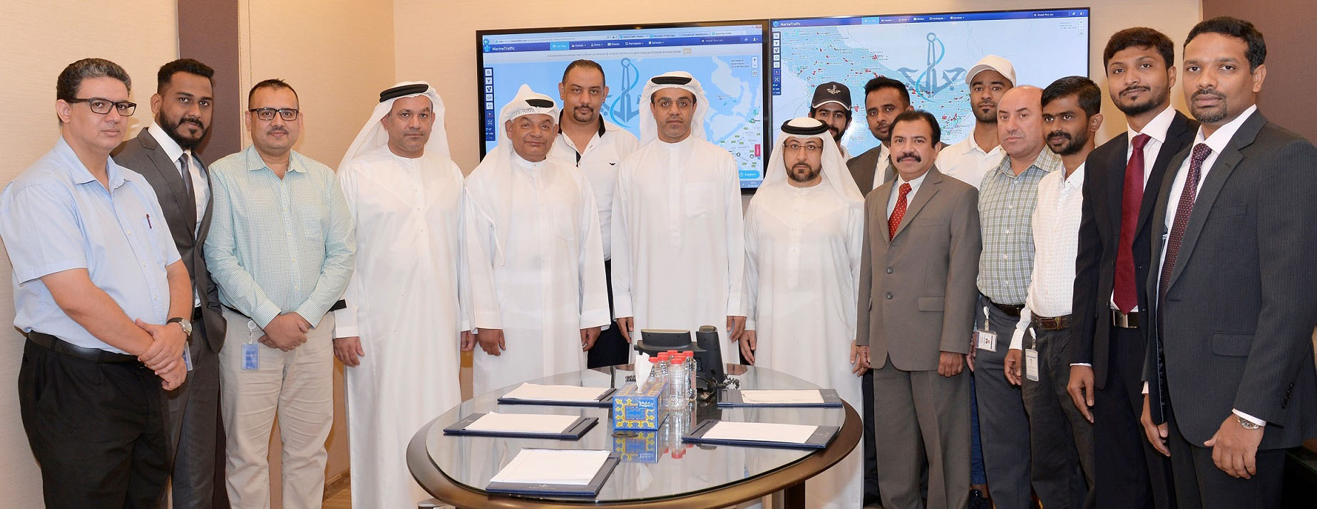 Dubai Maritime City Authority Regulates the Traffic in Dubai Water Canal