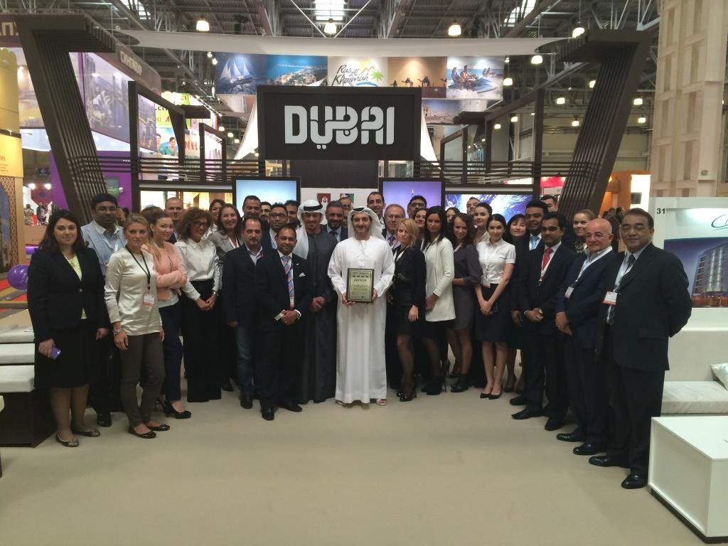 Dubai tourism leads delegations of dubai's tourism industry to promote the destination in russia and india