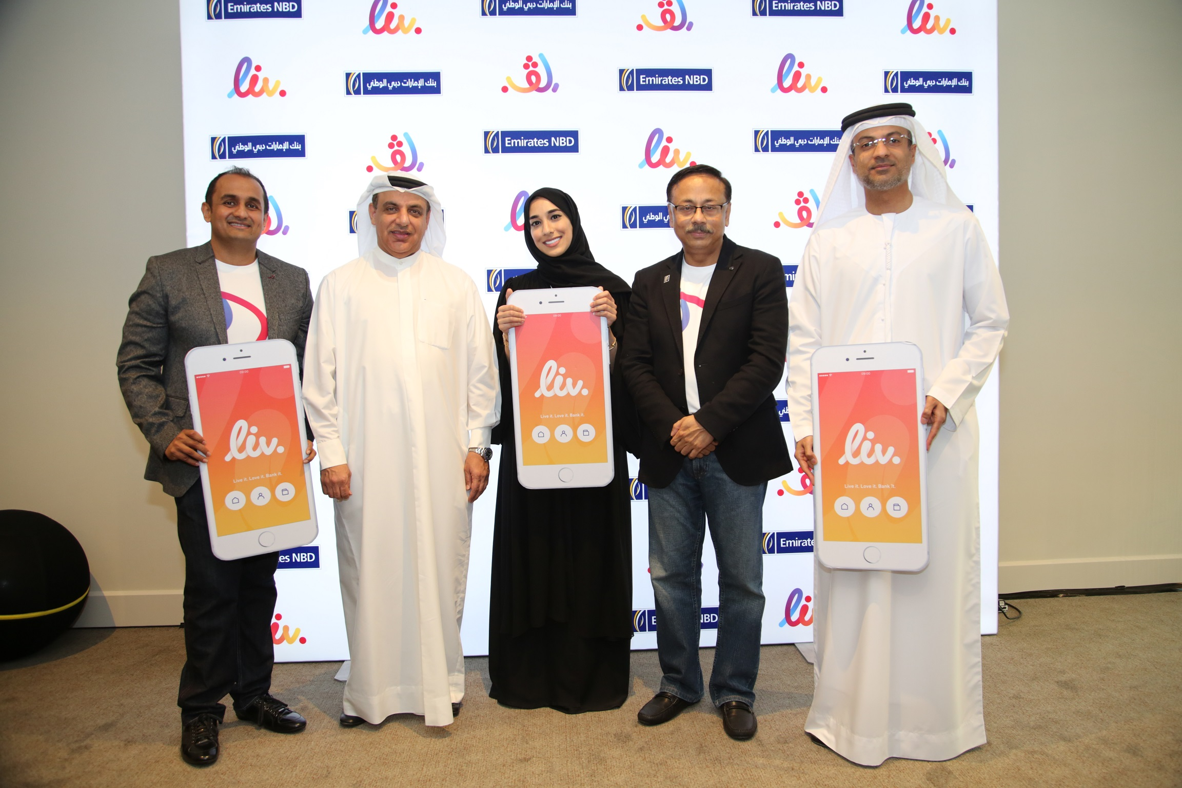 Emirates NBD Launches Liv. Bigital Banking Proposition