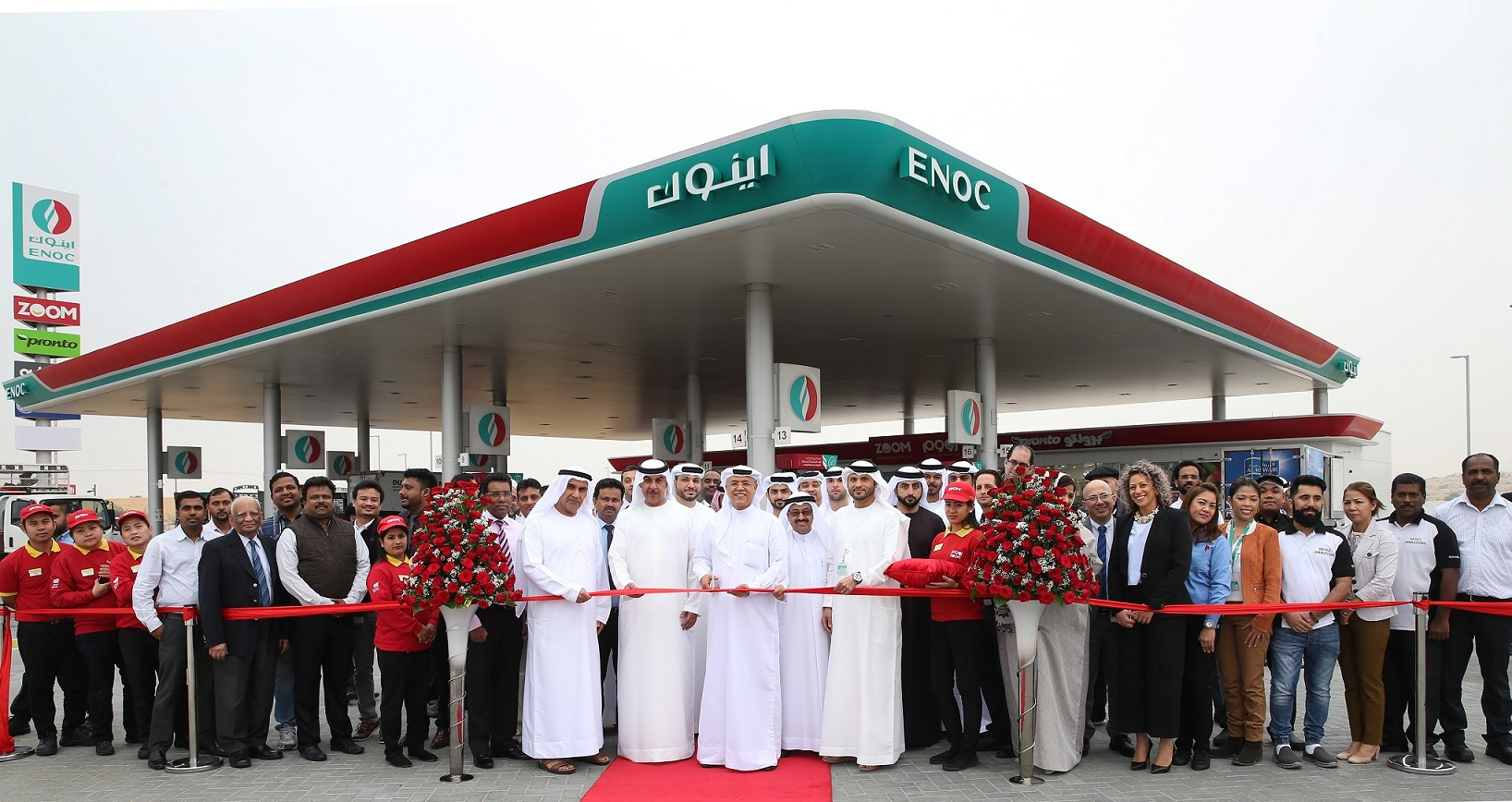 ENOC Constructs 10 new Service Stations in 2017
