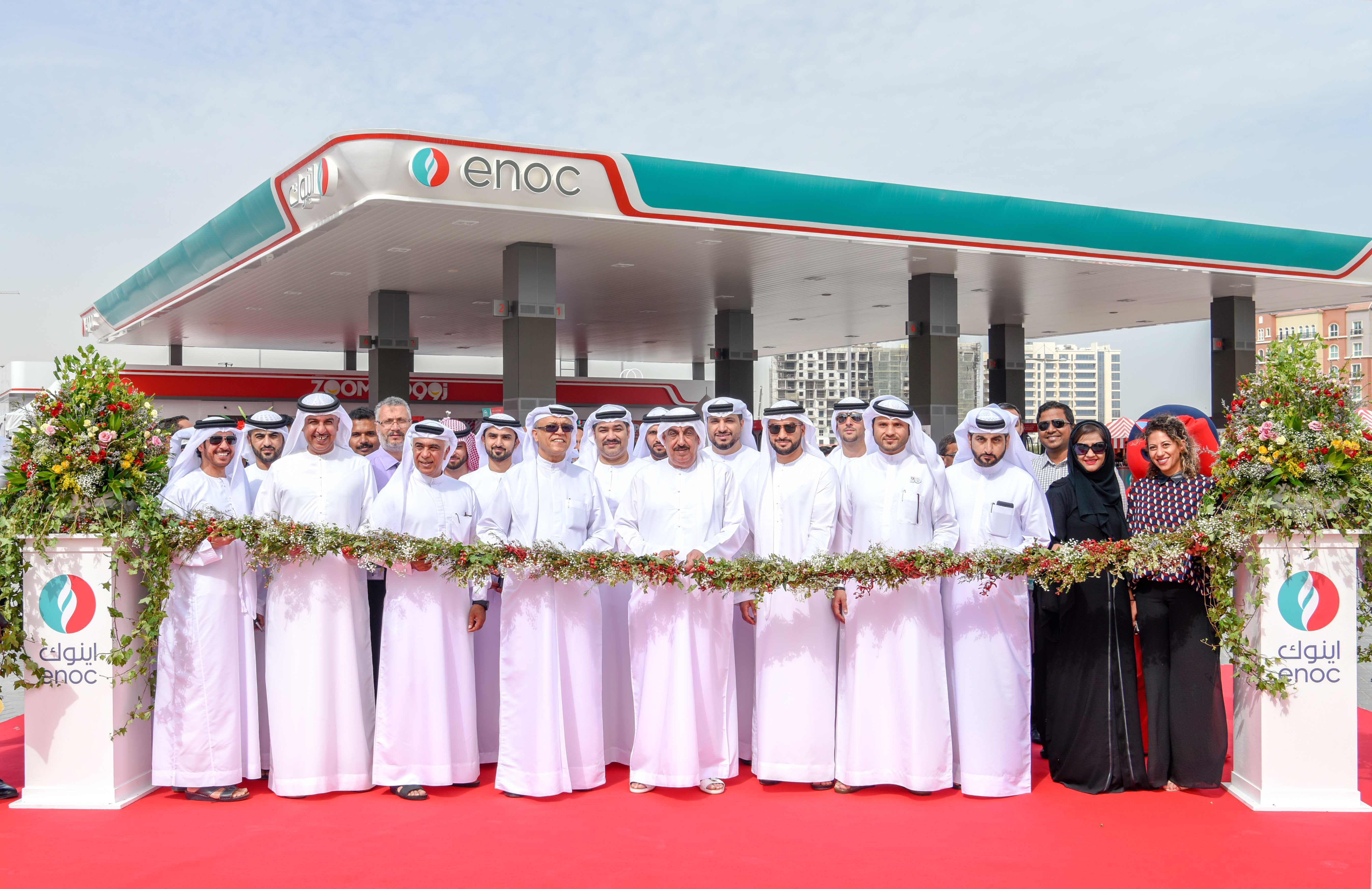 ENOC Group Opens Third Solar Powered Service Station in Discovery Gardens