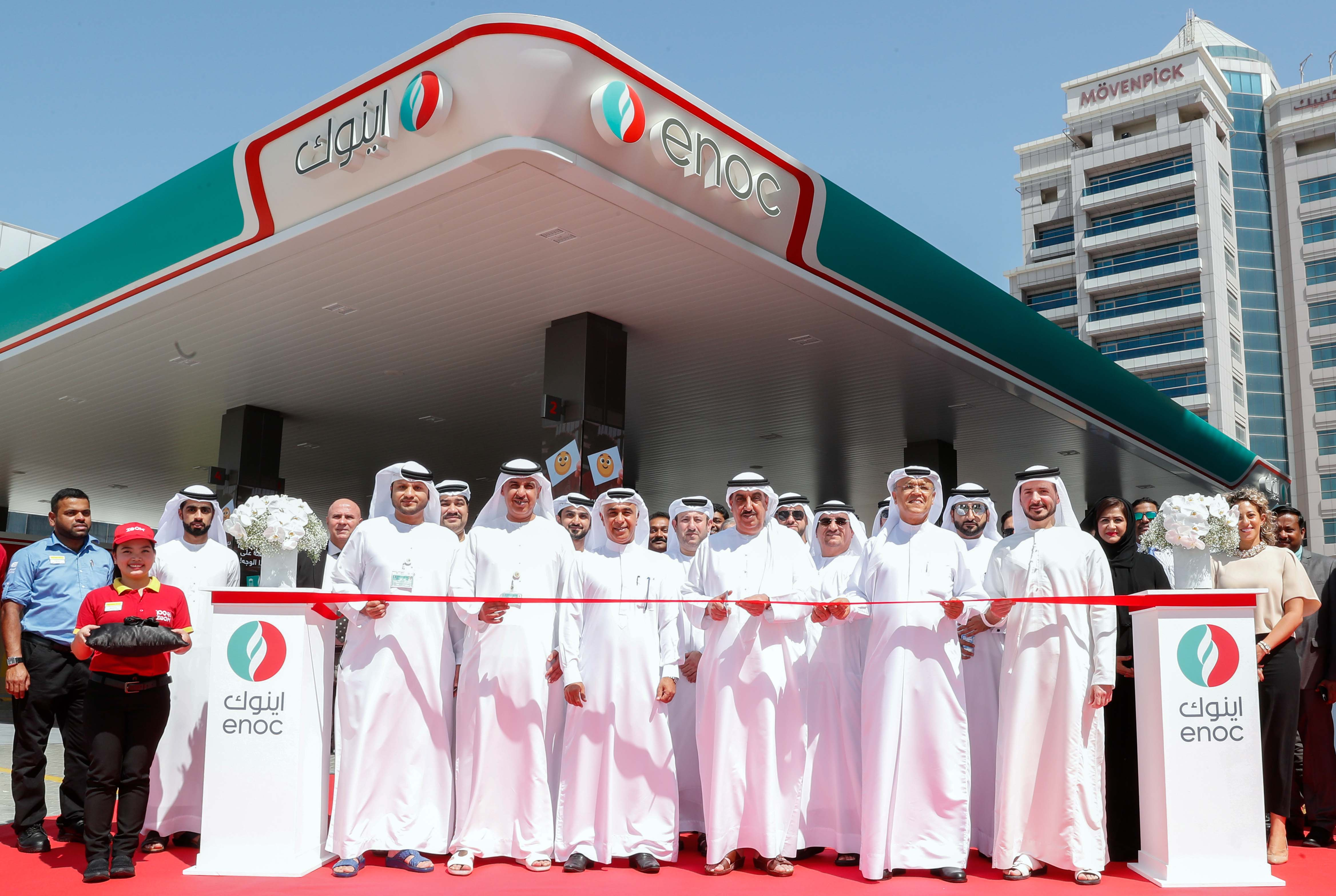 ENOC re-opens service station in Oud Metha