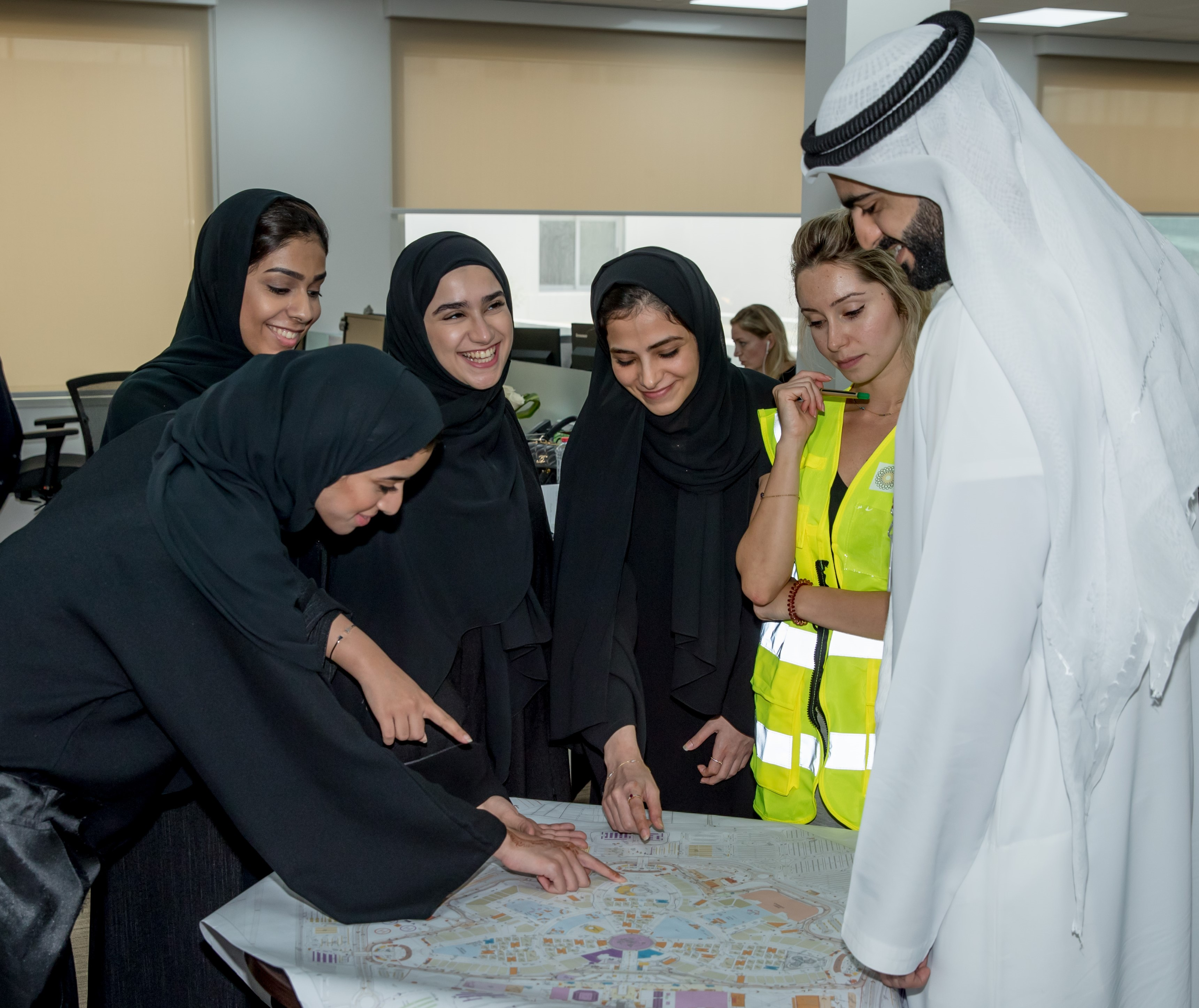 Expo 2020 Dubai Press Office : Internship Opportunity Offers Emirati Youth Chance to Learn From Experienced Expo 2020 Dubai Team