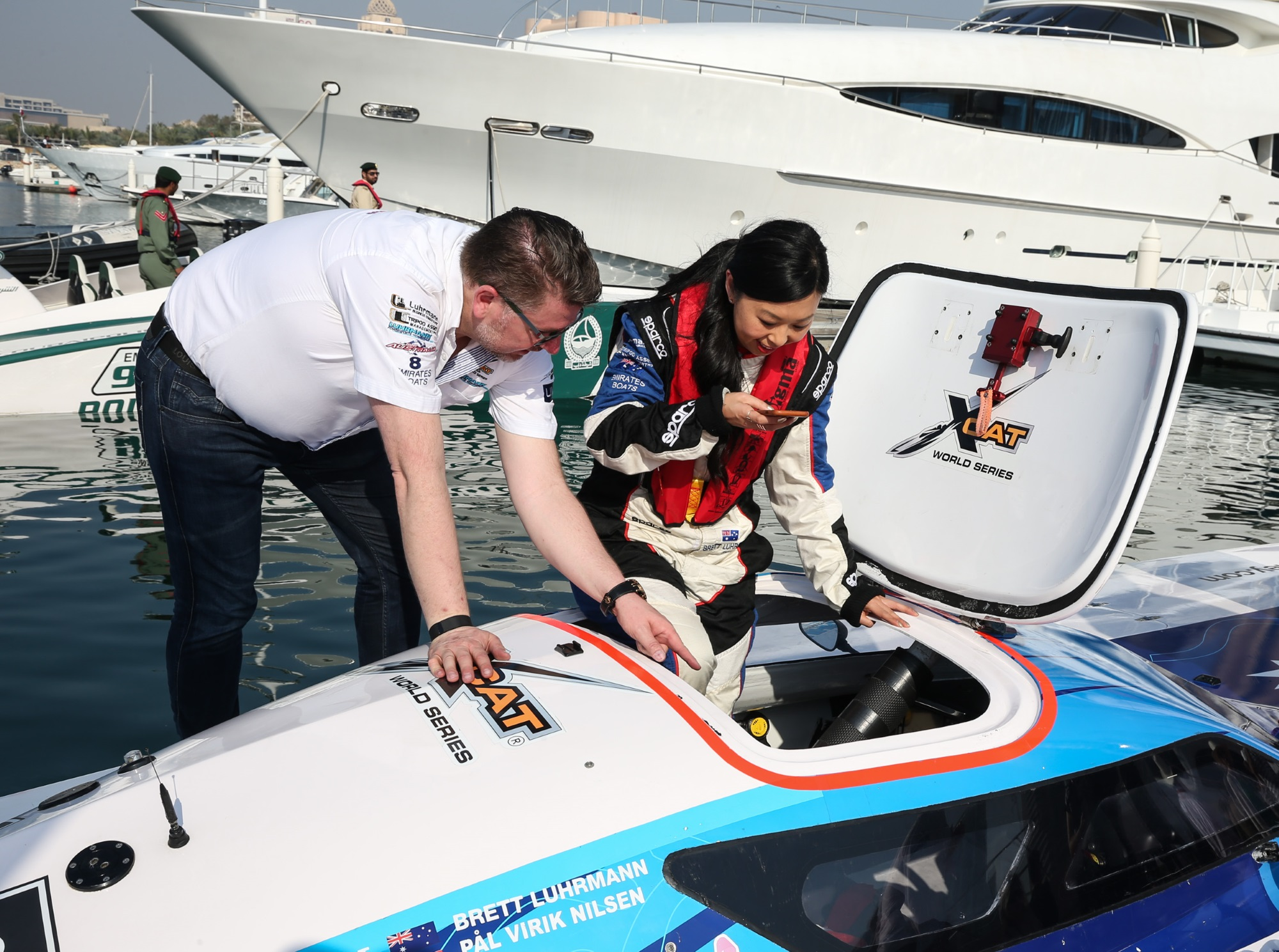 Extreme Offshore Powerboat Catamaran Takes Thrill Seekers on Ride of Their Life at Dubai International Boat Show