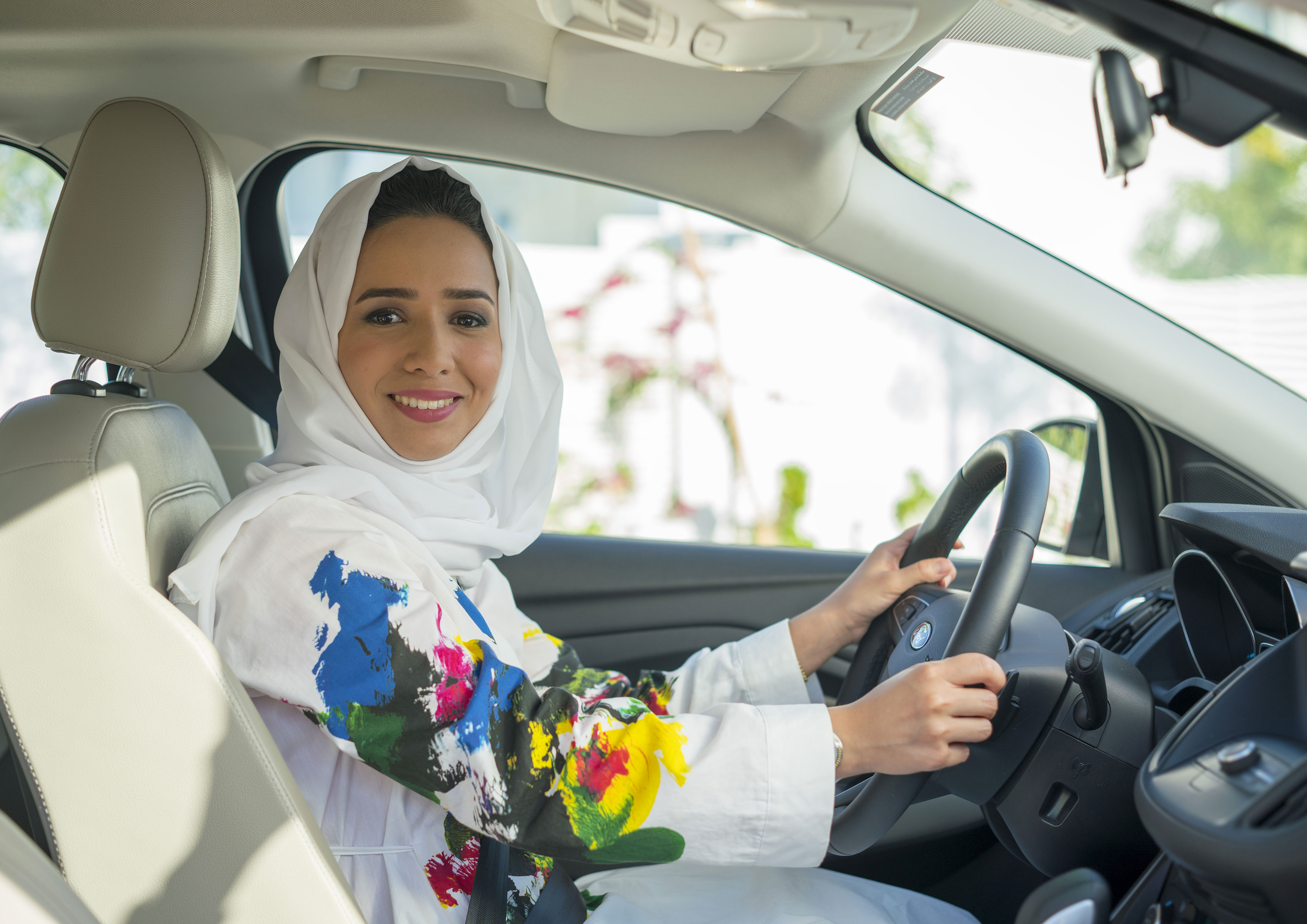 Yes to women driving in saudi