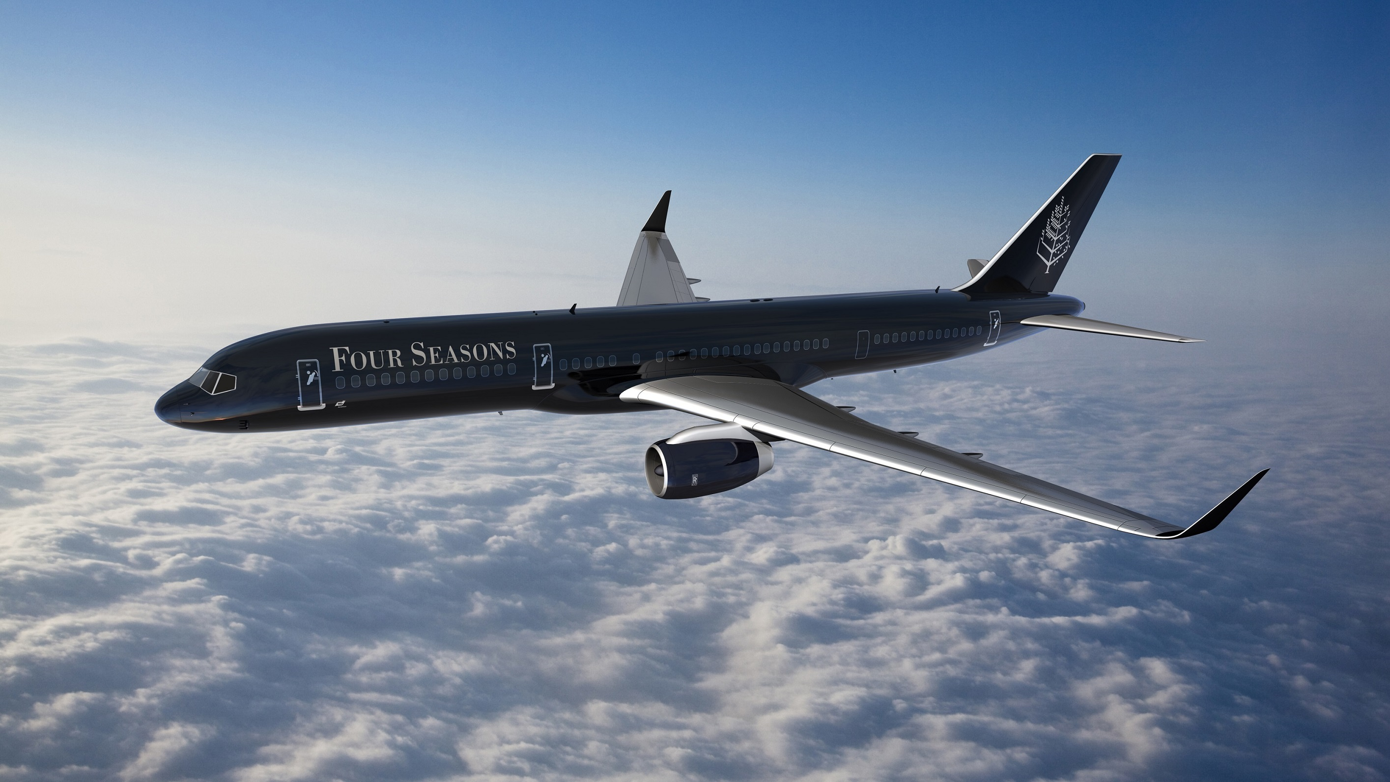 Four Seasons Soars to New Heights with Hotel Industry'sFirst Fully Branded Jet