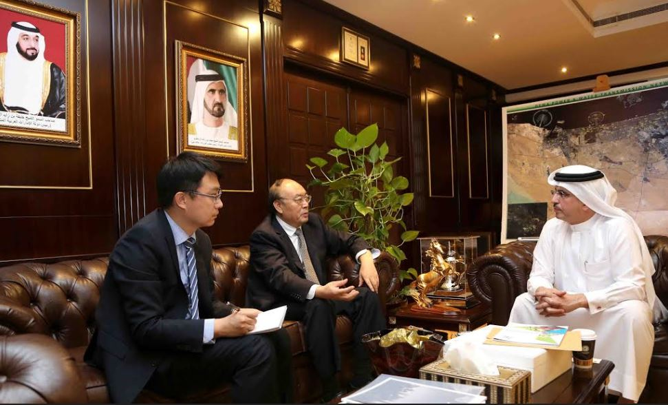 HE Saeed Mohammed Al Tayer meets China National Petroleum Corporation delegation