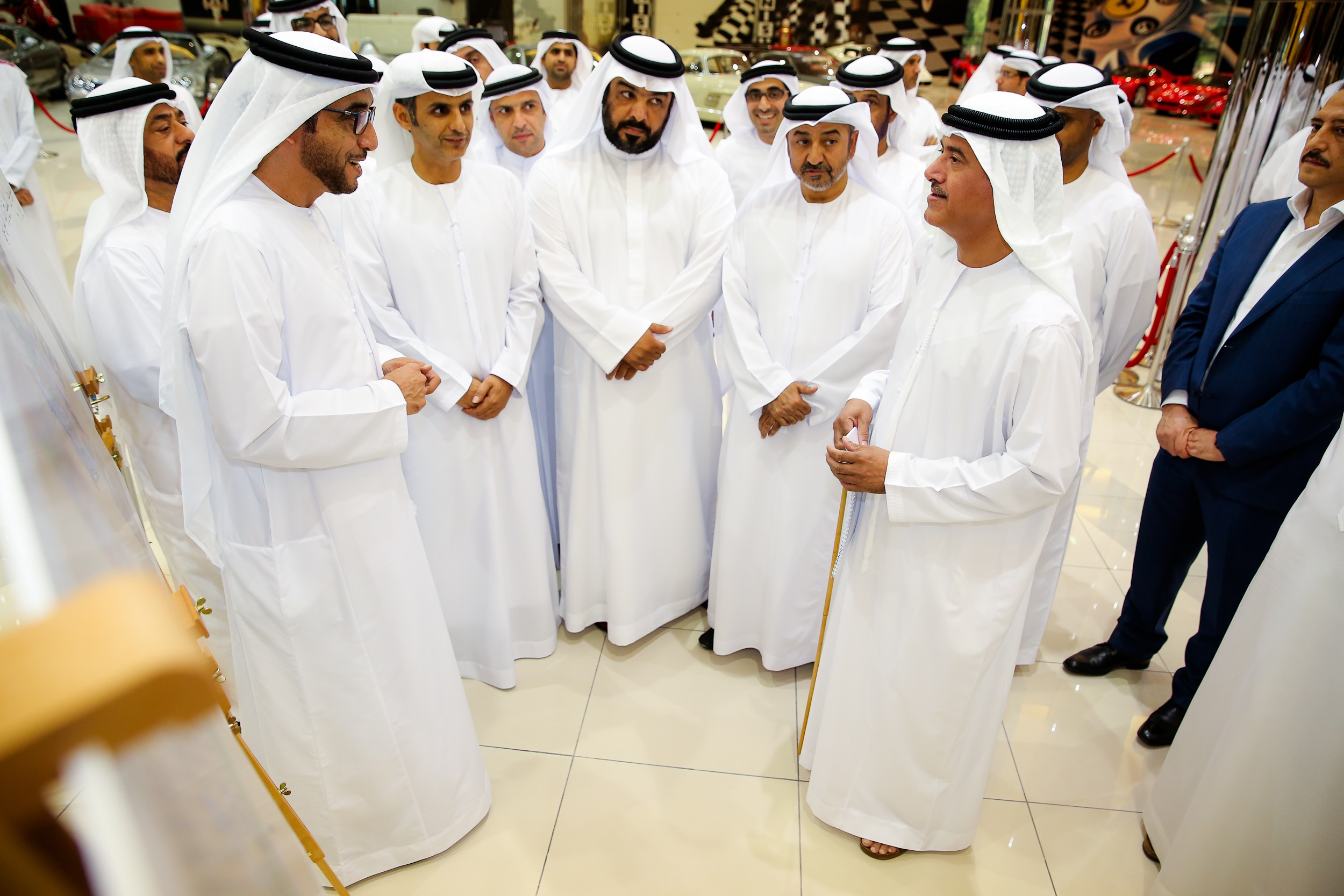 H.E Sheikh Sultan Bin Hamdan approveskey elements and attractions of Sheikh Zayed Heritage Festival 2014