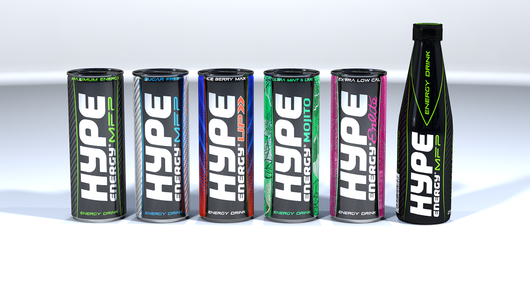 Hype Energy Drinks Eye Growth And Expansion In Middle East Asia