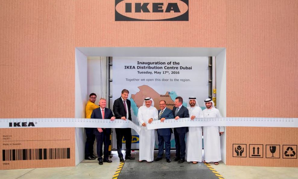 Ikea group opens its first distribution center in the for Ikea call center careers