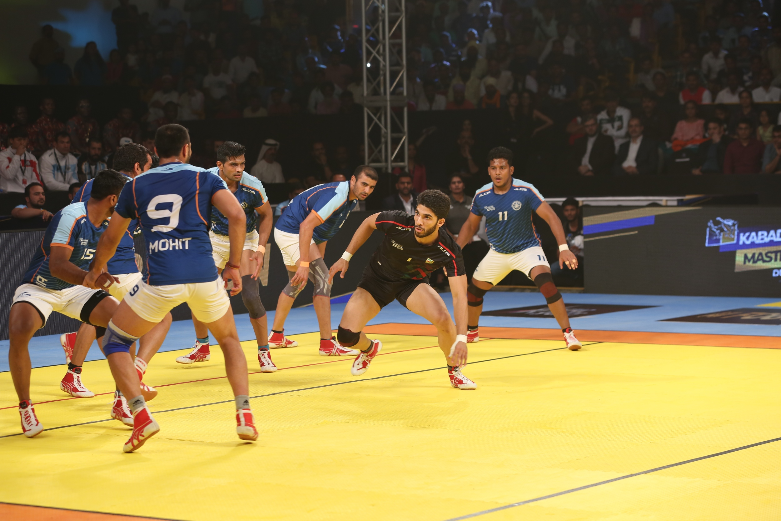 India Crowned Champions at Kabaddi Masters, Beat Iran 44-26.