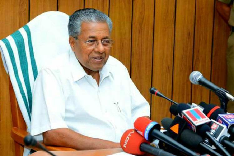 The Kerala Chief Minister Pinarayi Vijayan has arrived  in the capital on Wednesday on a four-day visit to the UAE to seek partnership of the Indian community in the reconstruction of the flood-hit Kerala.