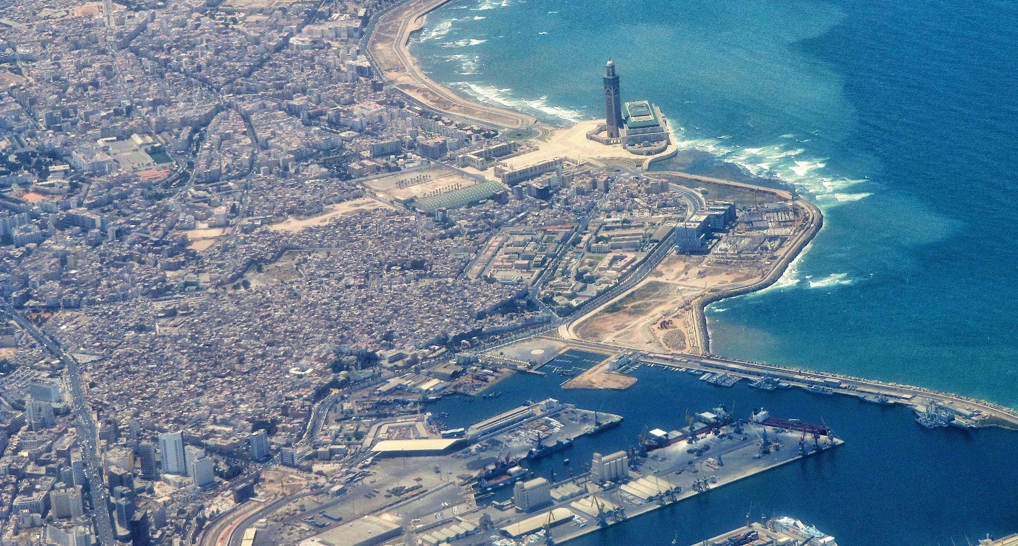 King mohamed vi launchesregeneration of historic old - Marocco casablanca ...