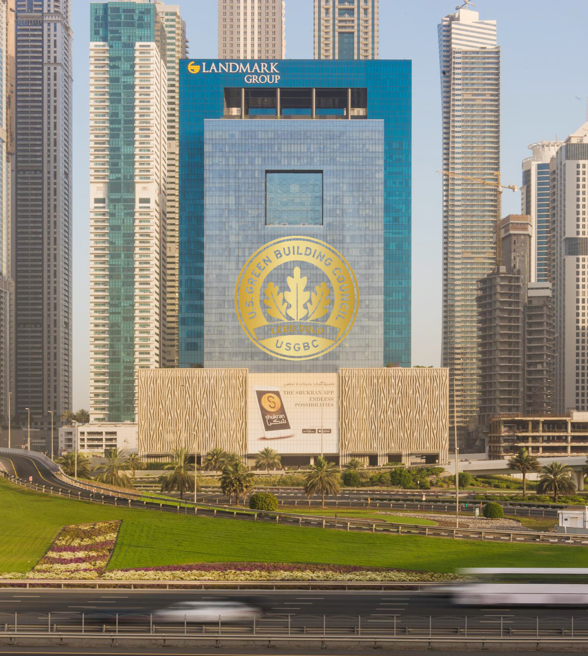 Landmark Tower in Dubai Marina Achieves LEED Gold Certification by US Green Building Council