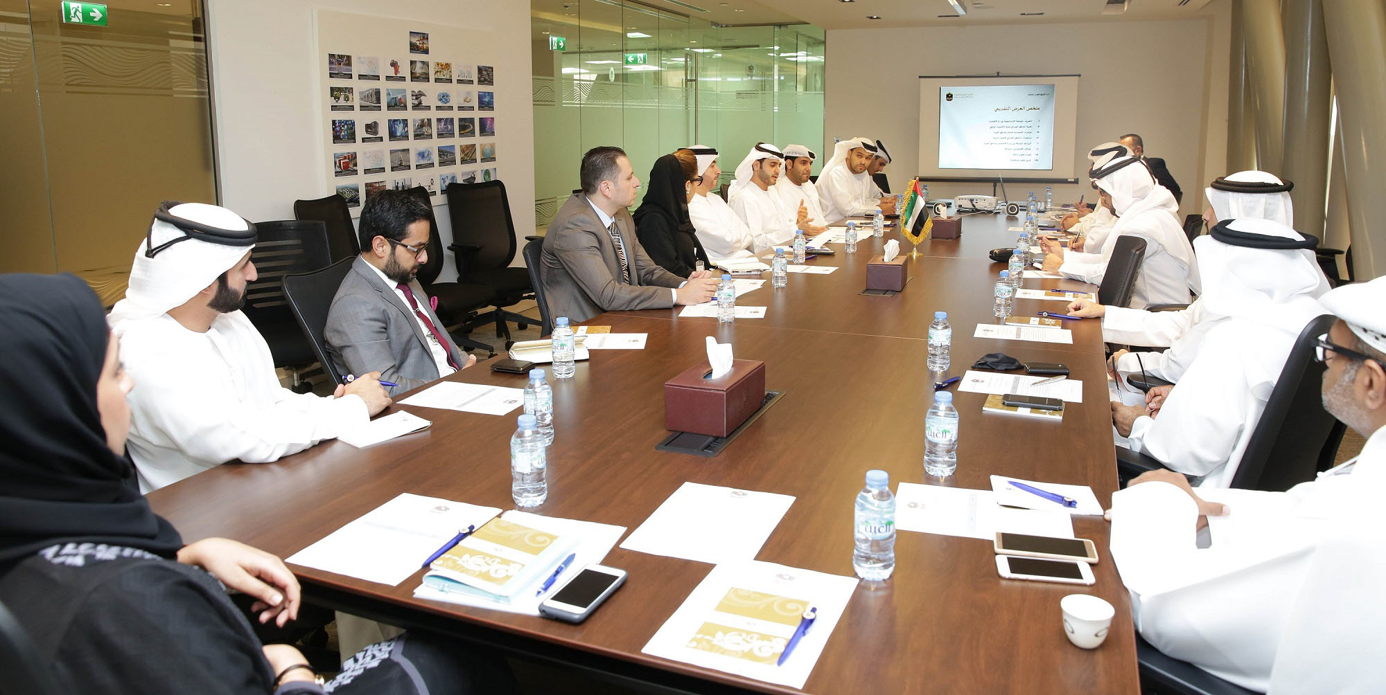 The Ministry of Economy and local Free Zones discuss enhanced trade and investment for better businesses environment
