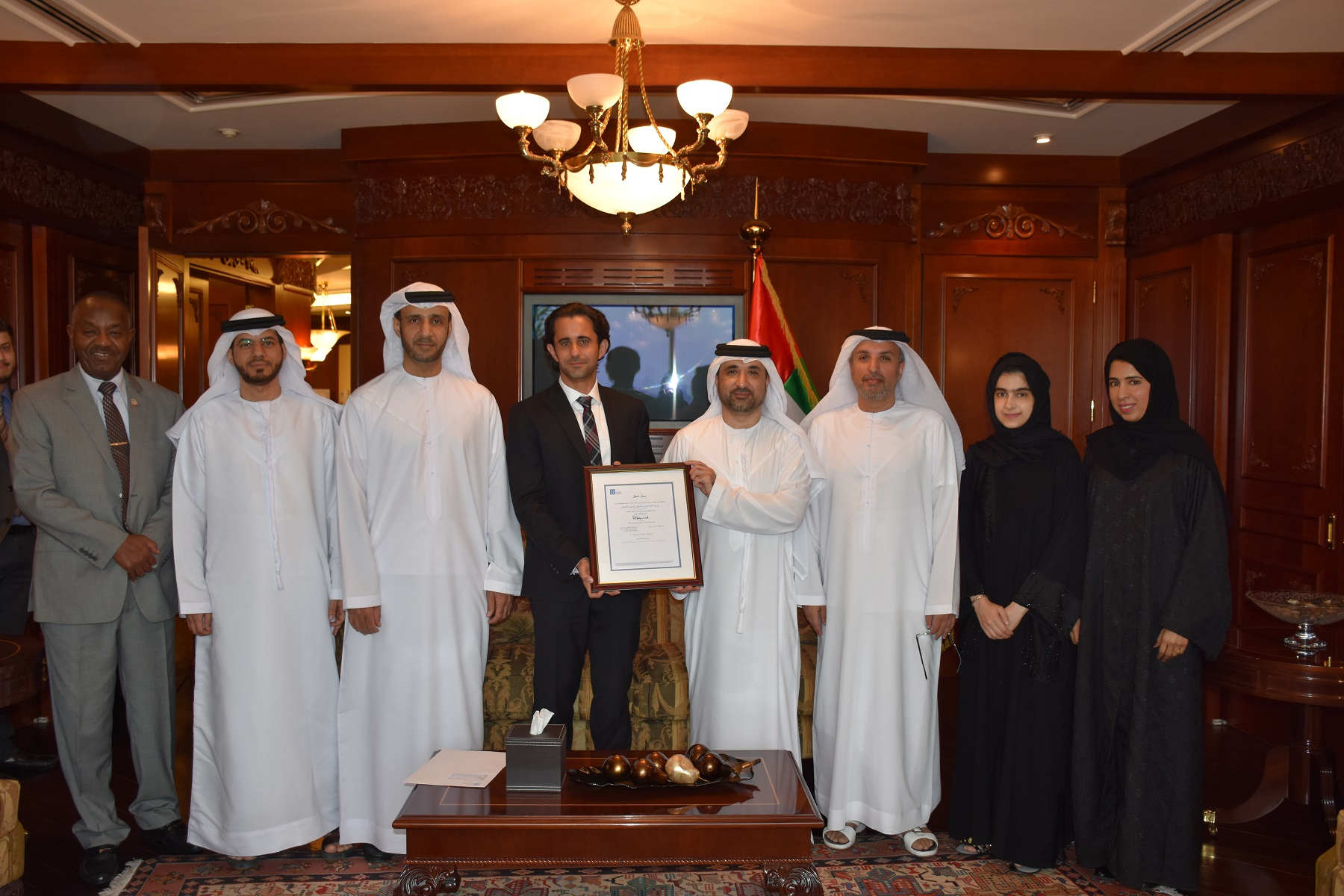 Ministry of State for Federal National Council Affairs Awarded European Innovation Management Standard Certification