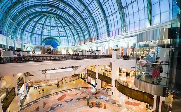 renowned shopping centers in dubai dayofdubai. Black Bedroom Furniture Sets. Home Design Ideas