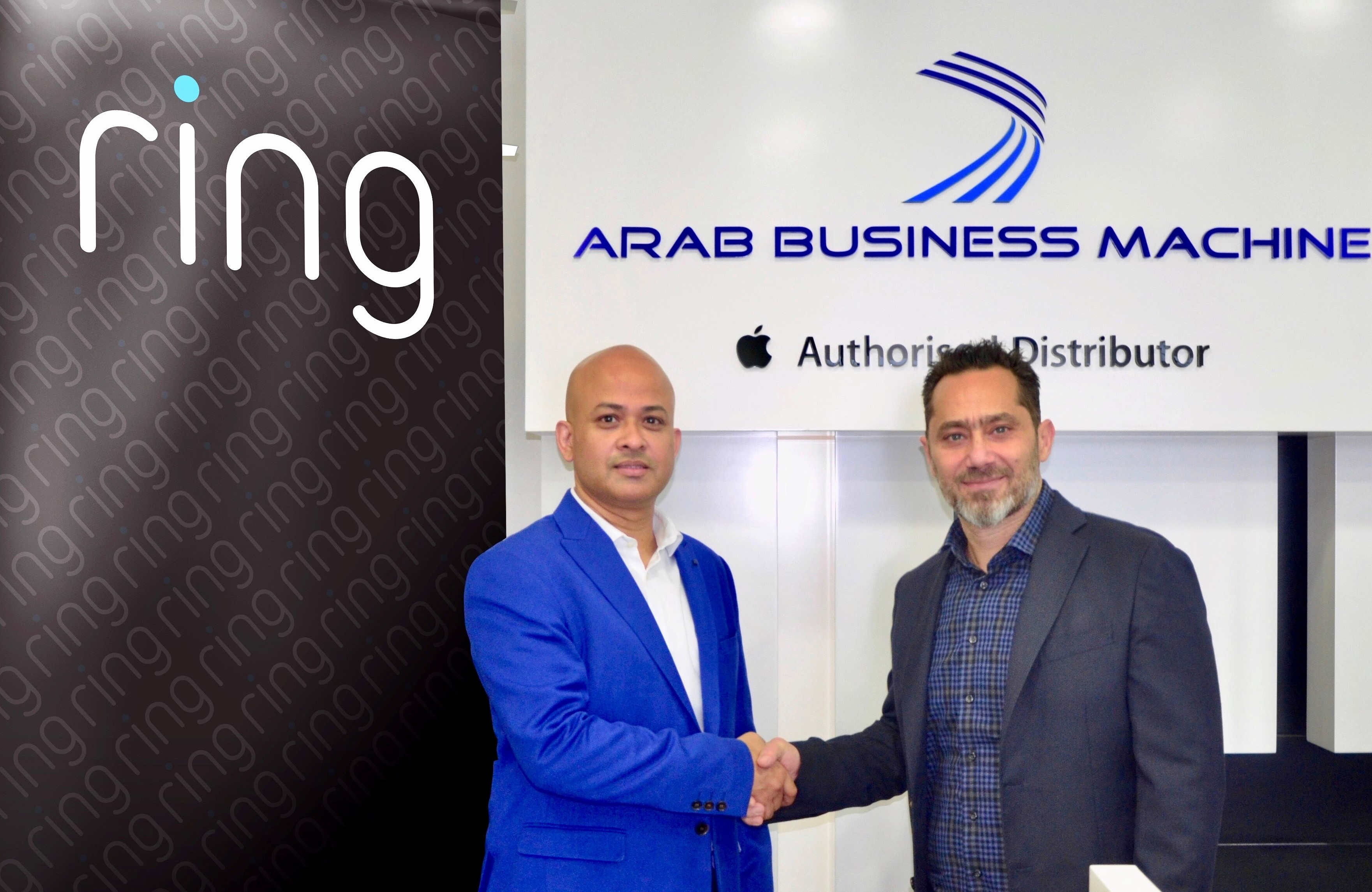 Ring and Arab Business Machine Sign New Partnership for  Middle East & North Africa