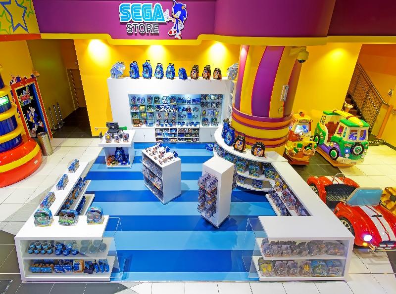 Sega Republic Is Now Home To Official Sonic The Hedgehog Memorabilia Day Of Dubai Dubai S Leading Information Portal News Jobs Events