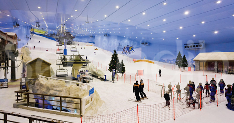 Skiing the Slopes in Dubai at Ski Dubai