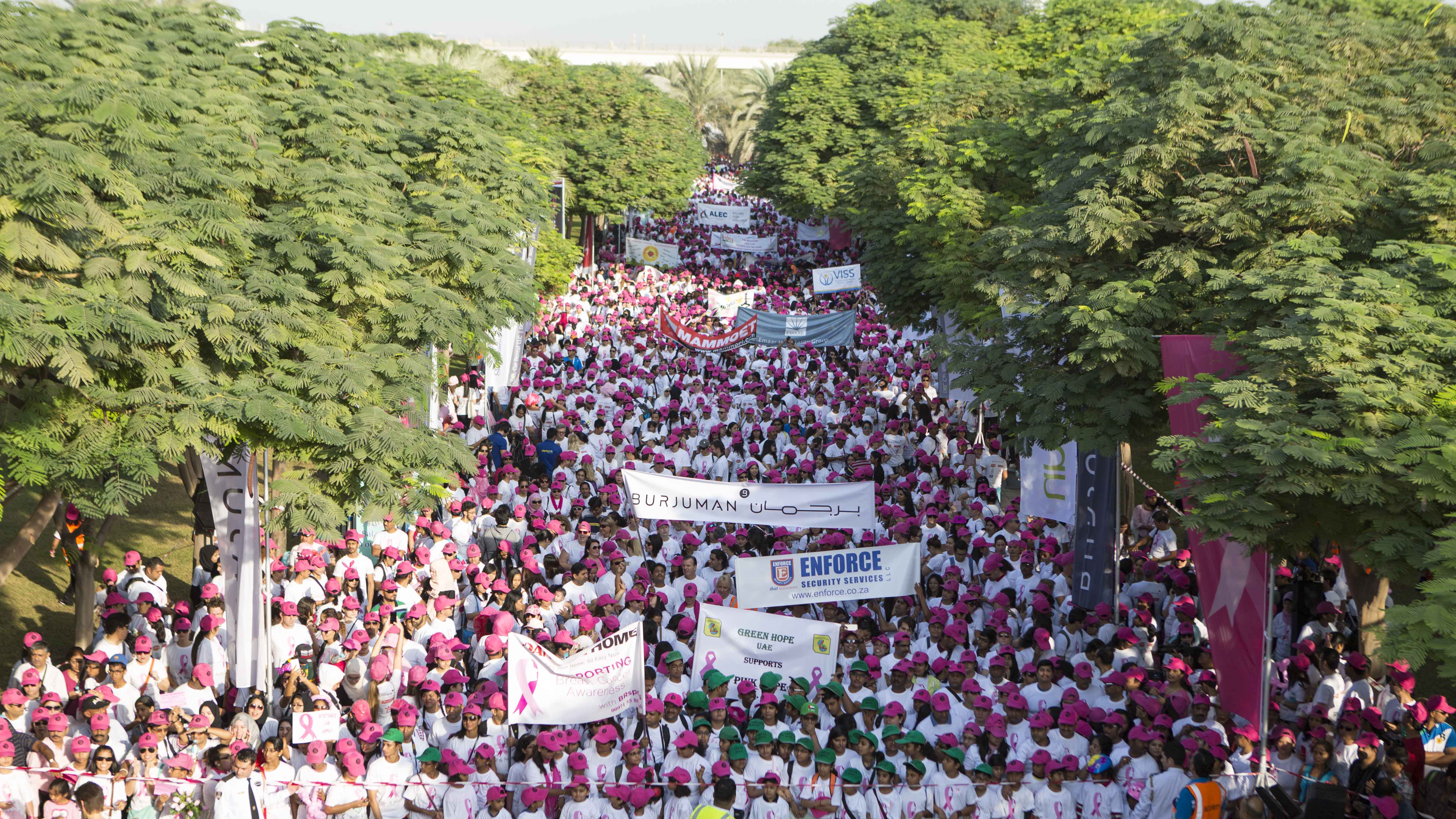 Thousands Step Out To Support Breast Cancer Awareness At