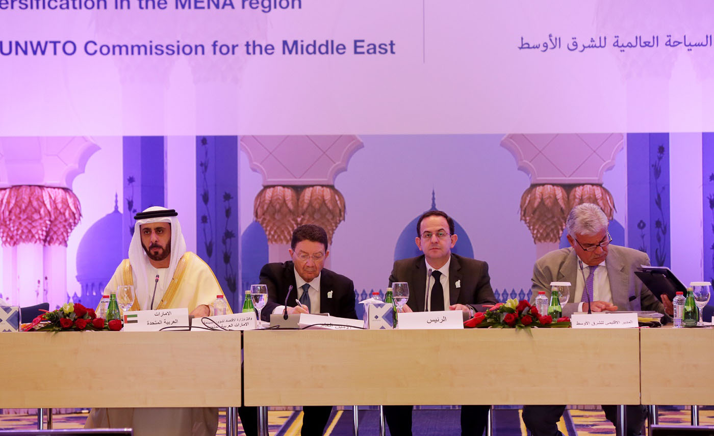 UAE Hosts 42nd Meeting of UNWTO Commission for the Middle East on Sidelines of Arabian Travel Market