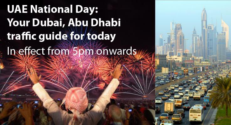 UAE National Day: Your Dubai, Abu Dhabi traffic guide for